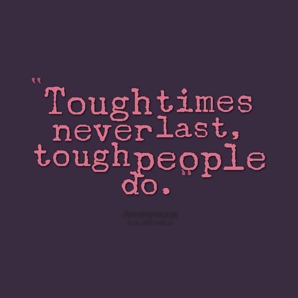 Why Tough Times Are the Best Times